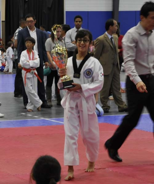 Winning the Grand Championship at the Tournament