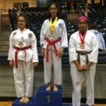 Congratulations to Isabel for winning gold in forms at the 38th Annual U.M.A. Taekwondo Championship!